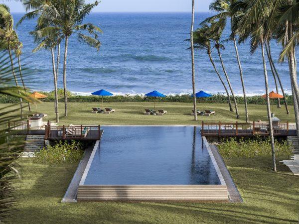 Shangri La's Hambantota Golf Resort and Spa Sunset Pool