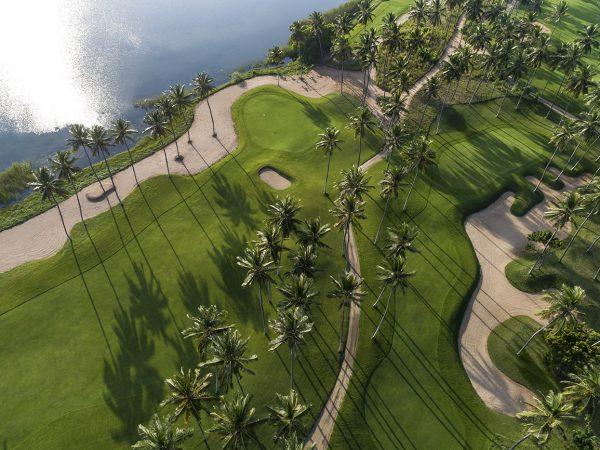 Shangri La's Hambantota Golf Resort and Spa Top View
