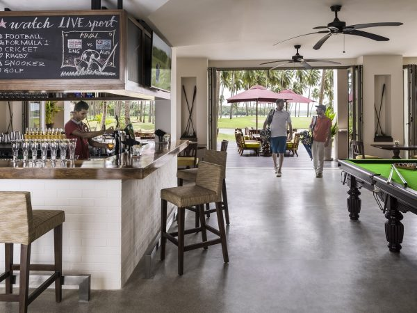 Shangri La's Hambantota Golf Resort and Spa Ulpatha Club House and Bar