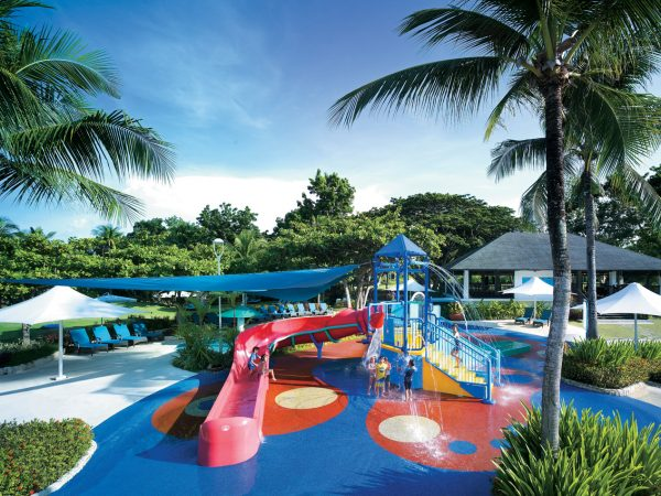 Shangri La's Mactan Resort and Spa Cebu Aquaplay at Main Pool