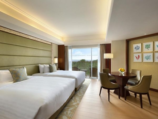 Shangri La's Mactan Resort and Spa Cebu Deluxe Sea View