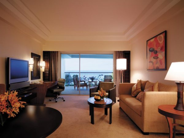 Shangri La's Mactan Resort and Spa Cebu Ocean Wing Panorama Room