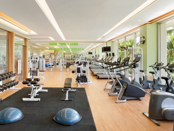 Shangri La's Mactan Resort and Spa Cebu gym