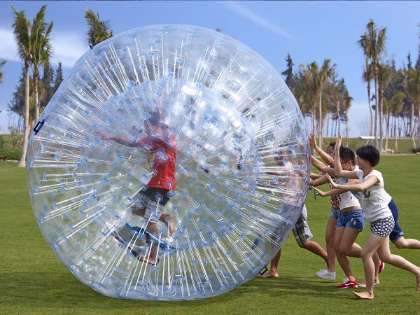 Shangri La's Sanya Resort and Spa Hainan Lawn Zorb Ball