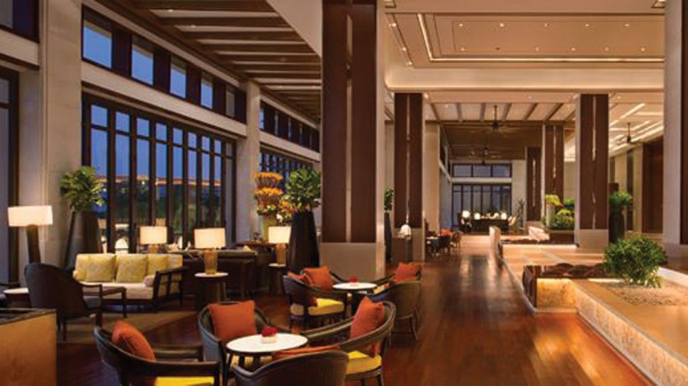 Shangri La's Sanya Resort and Spa Hainan Lobby Lounge