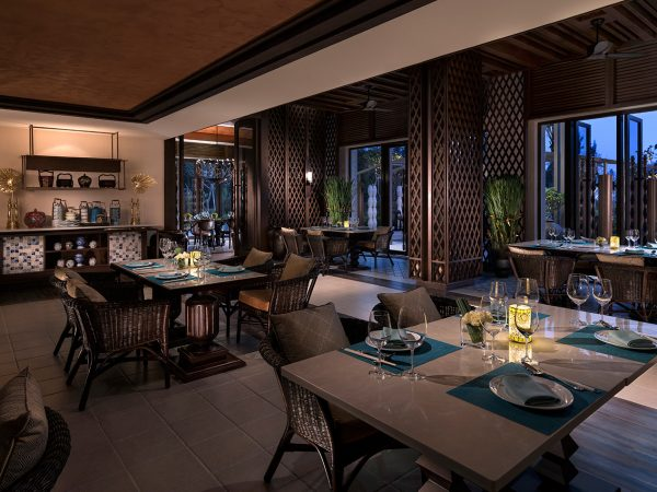 Shangri La's Sanya Resort and Spa Hainan S.E.A. Restaurant