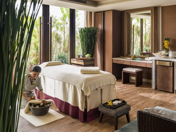Shangri La's Sanya Resort and Spa Hainan Spa