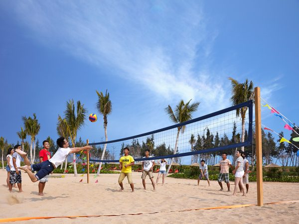 Shangri La's Sanya Resort and Spa Hainan Volleyball