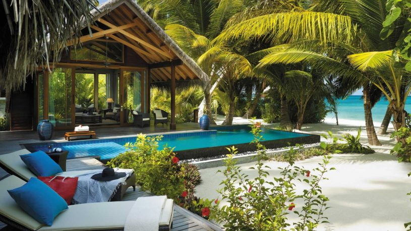 Shangri Las Villingili Resort and Spa Maldives Beach Villa