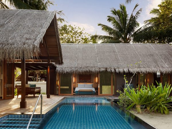 Shangri La's Villingili Resort and Spa Maldives 1 Bed Beach Villa