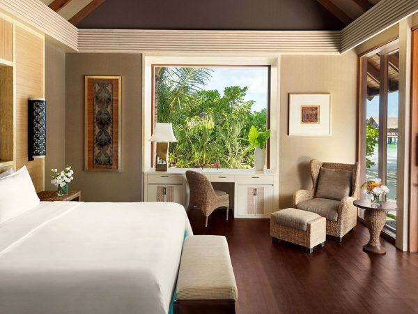 Shangri La's Villingili Resort and Spa Maldives 2 Bed Beach Villa