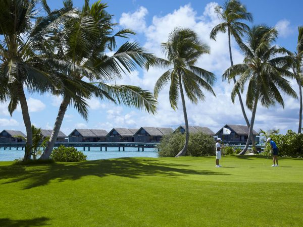 Shangri La's Villingili Resort and Spa Maldives Golf