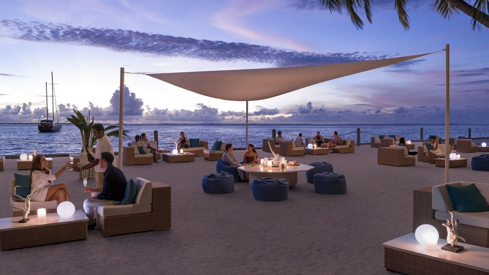 Shangri La's Villingili Resort and Spa Maldives M Lounge