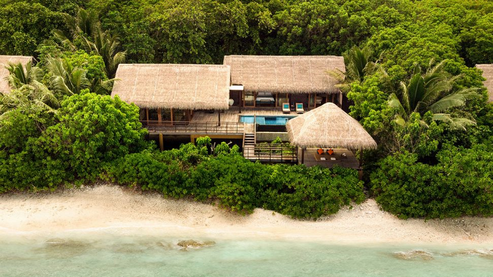 Shangri La's Villingili Resort and Spa Maldives Ocean Tree House Villa