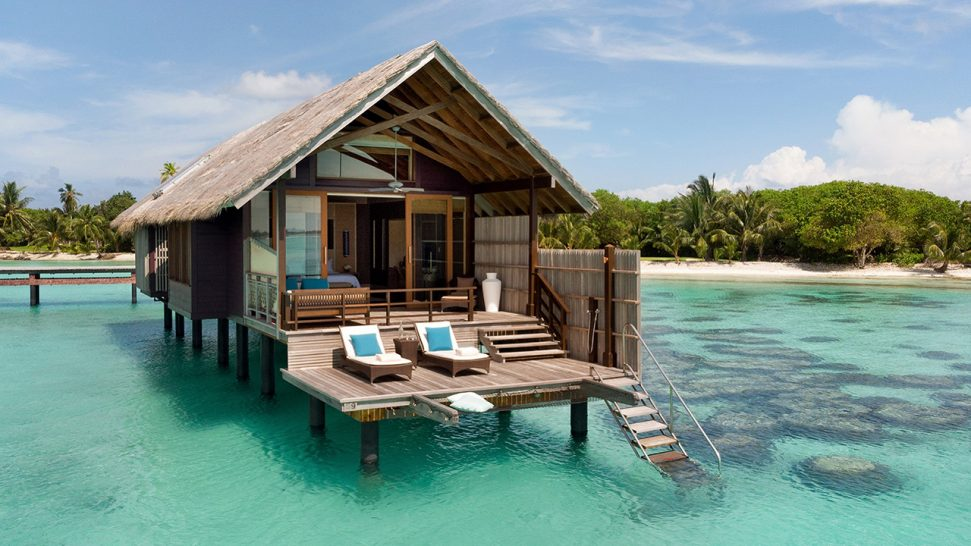 Shangri La's Villingili Resort and Spa Maldives PWater Villa