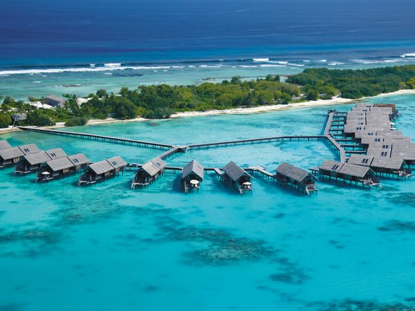 Shangri La's Villingili Resort and Spa Maldives View