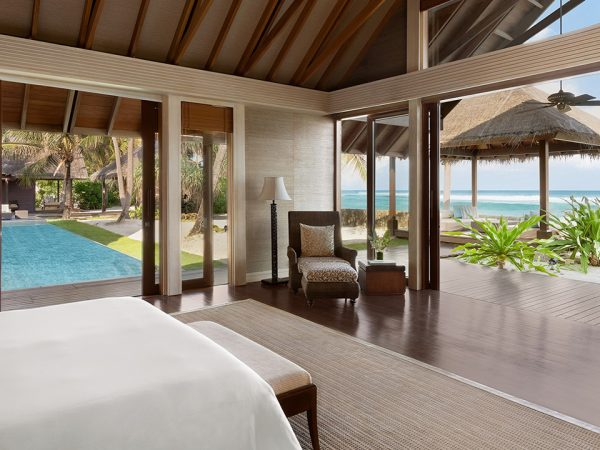 Shangri La's Villingili Resort and Spa Maldives Villa Laalu