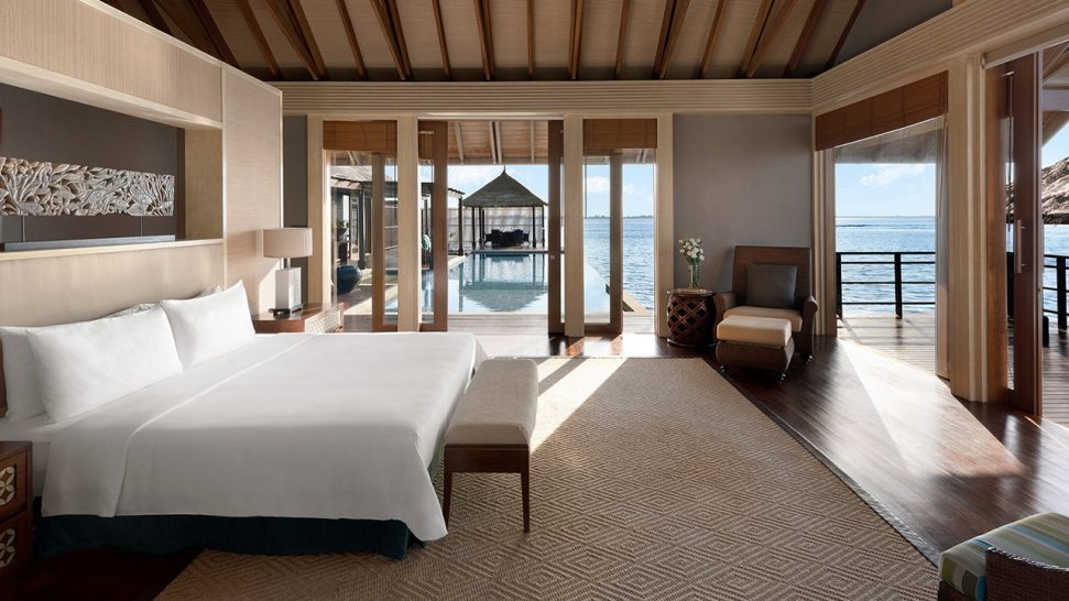Shangri La's Villingili Resort and Spa Maldives Villa Muthee
