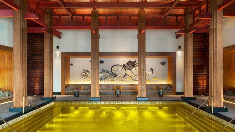 St regis lhasa resort pool