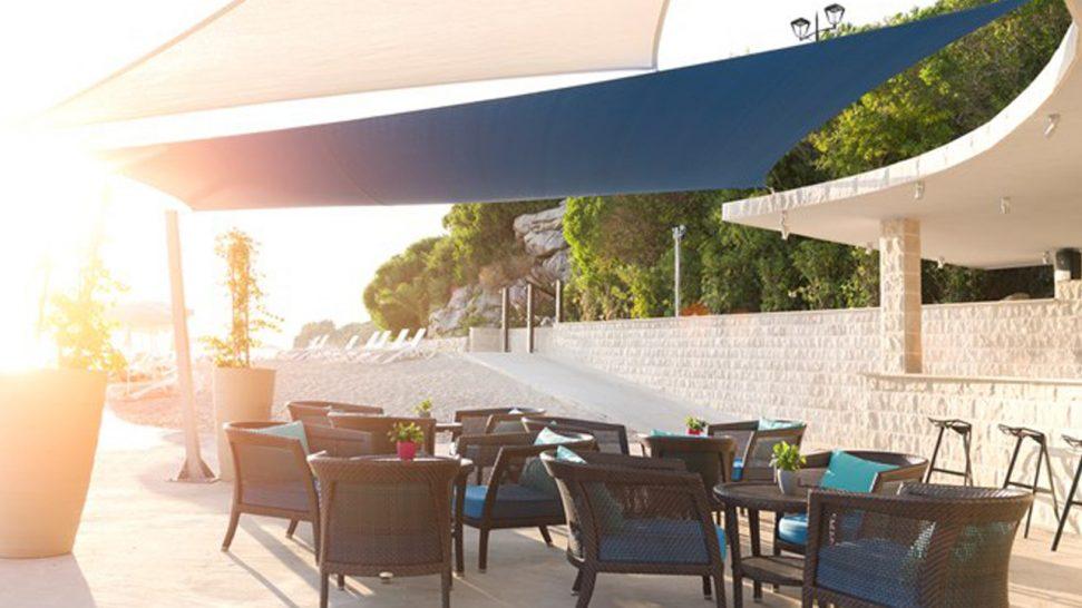 Sun Gardens Dubrovnik Beach Bar Pebbles