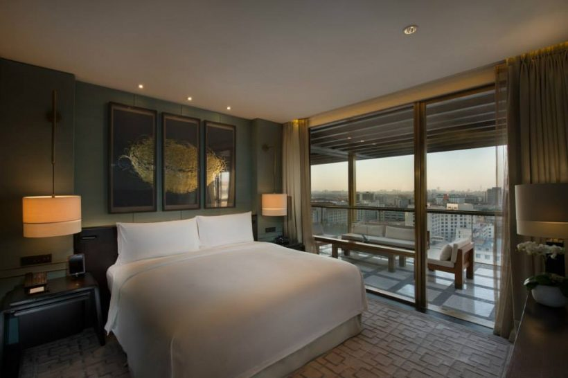 Terrace Suite Bedroom Waldorf Astoria Beijing