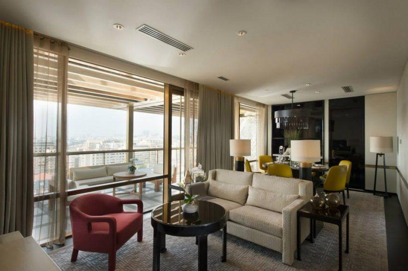 Terrace Suite Waldorf Astoria Beijing