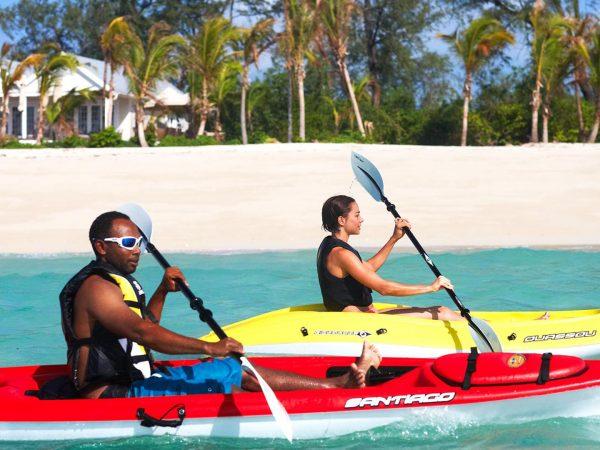 Thanda Island Kayaking