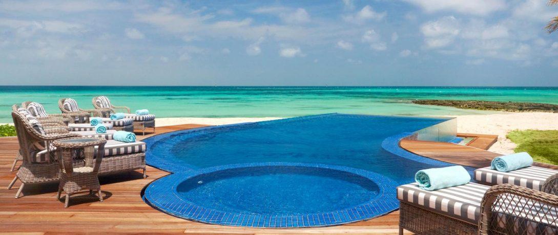 Thanda Island Tanzania Pool