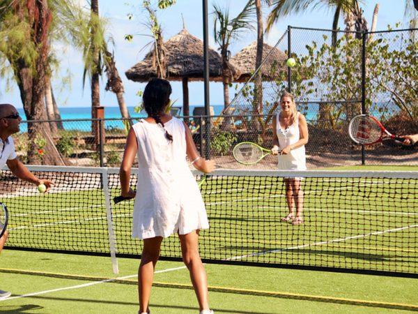 Thanda Island Volleyball Court