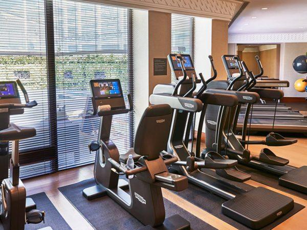 The Capitol Kempinski Hotel Singapore Gym