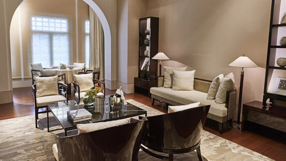 The Capitol Kempinski Hotel Singapore Heritage Suite
