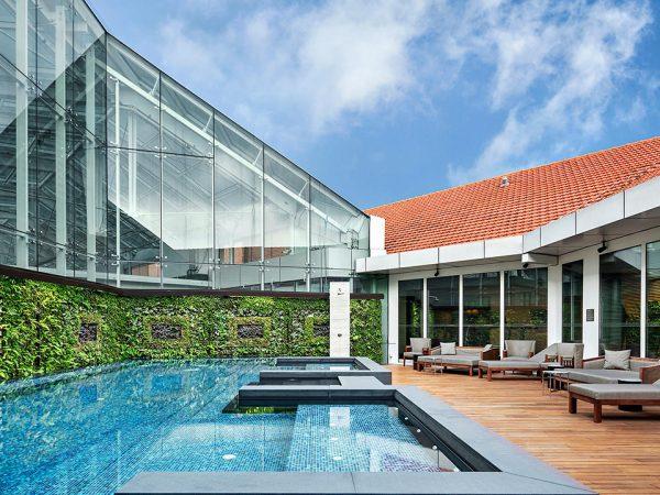 The Capitol Kempinski Hotel Singapore Outdoor Pool