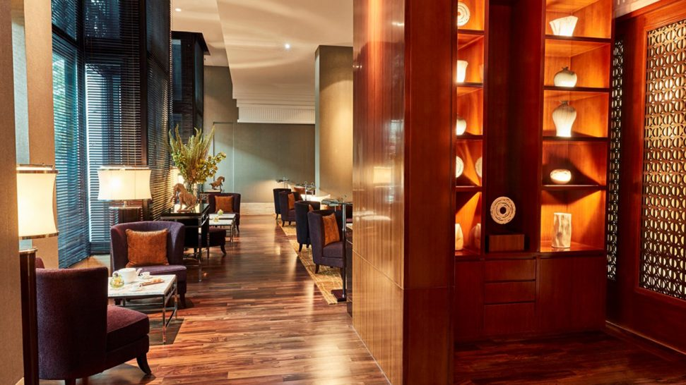 The Capitol Kempinski Hotel Singapore The Lobby Lounge