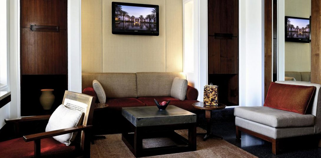 The Chedi Muscat Deluxe Club Terrace Room