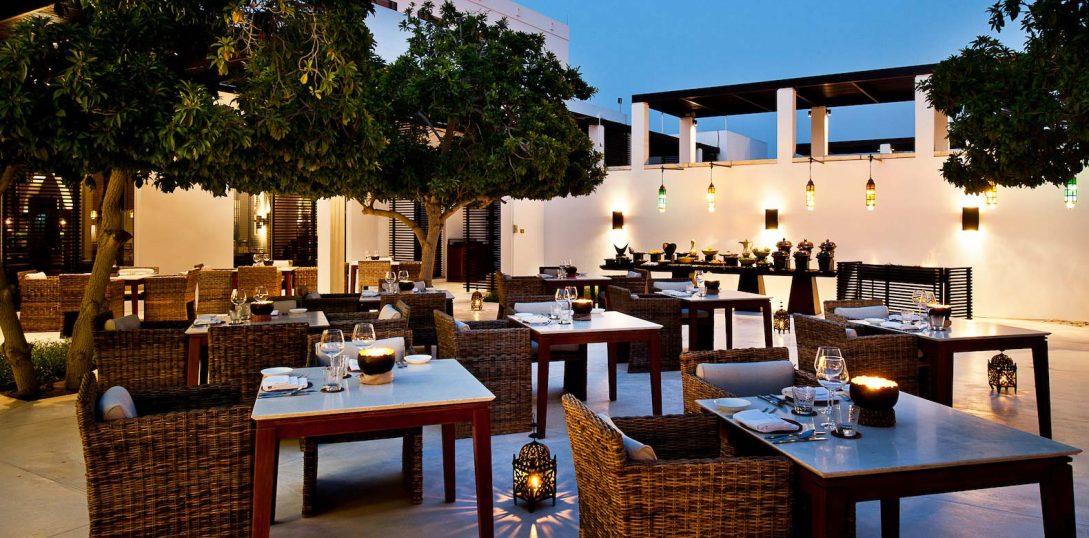 The Chedi Muscat The Arabian Courtyard