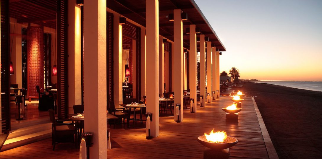 The Chedi Muscat The Beach Restaurant