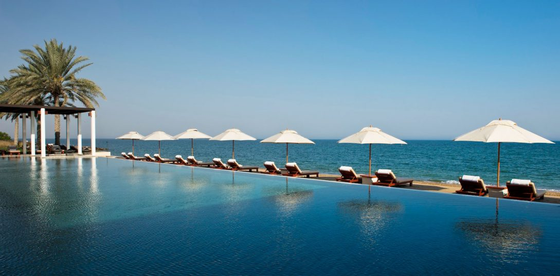The Chedi Muscat The Chedi Pool Cabana