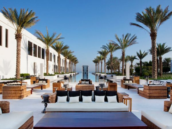The Chedi Muscat The Long Pool Cabana
