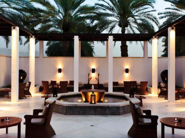 The Chedi Muscat The Shisha Courtyard