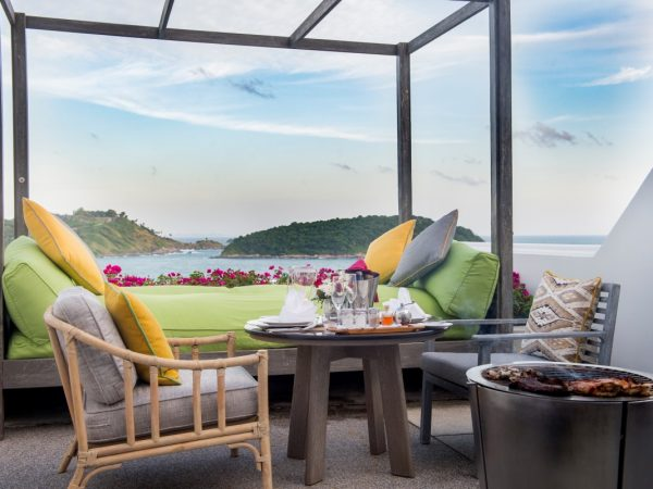 The Nai Harn In Room Dining