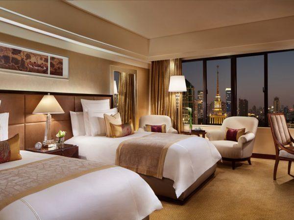 The Portman Ritz Carlton Shanghai Club Deluxe Room