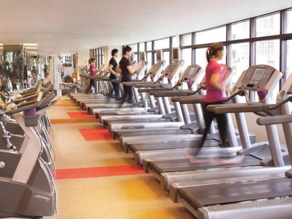 The Portman Ritz Carlton Shanghai Gym