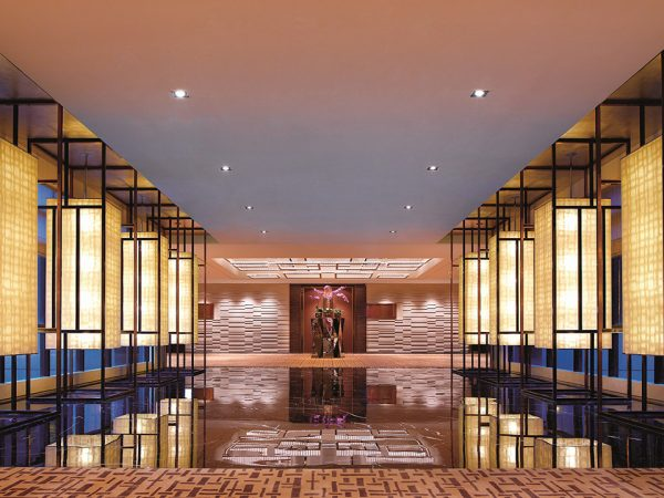 The Portman Ritz Carlton Shanghai Lobby Interior