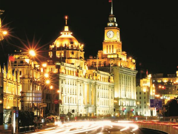 The Portman Ritz Carlton Shanghai Night view