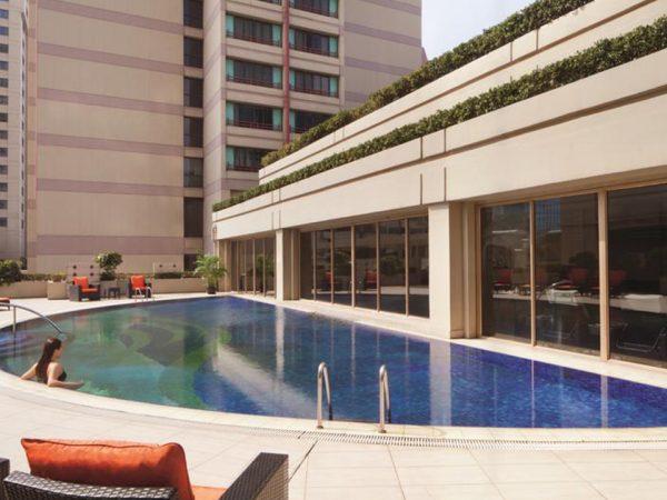 The Portman Ritz Carlton Shanghai Outdoor Pool