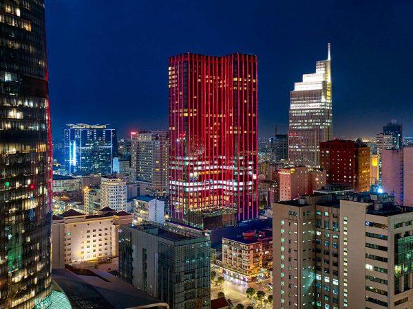 The Reverie Saigon Night View