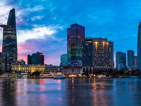 The Reverie Saigon river night