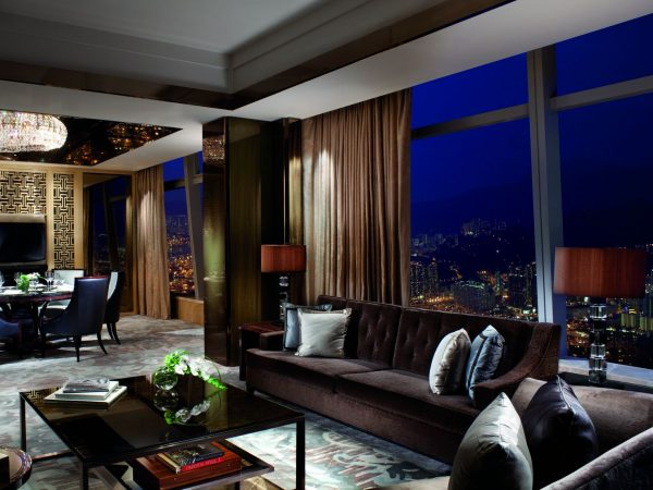 The Ritz Carlton Hong Kong Carlton Suite Victoria Harbour