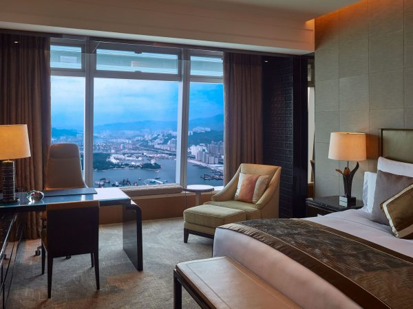 The Ritz Carlton Hong Kong Club Grand Seaview Room