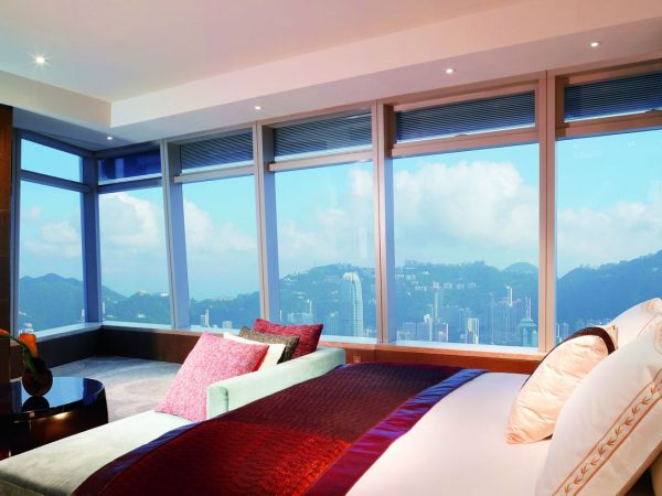 The Ritz Carlton Hong Kong Club Grand Victoria Harbour Room